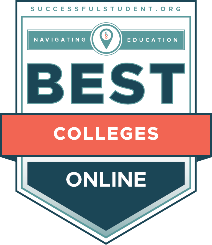 The Best Online Colleges 2021's Badge
