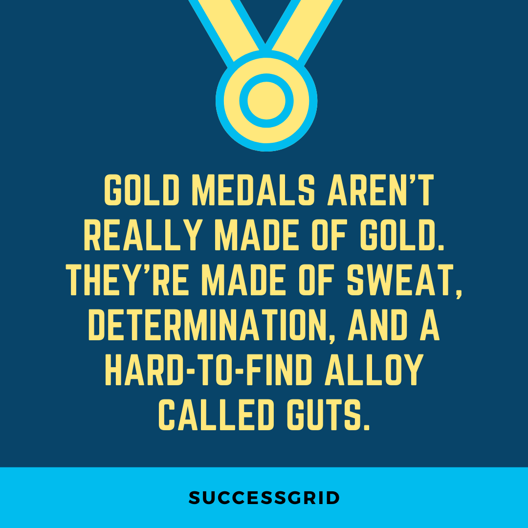 Dan Gable Quotes Gold Medals