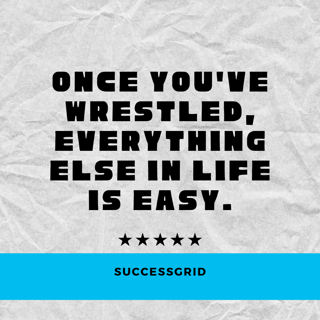 Dan Gable Quotes wrestled