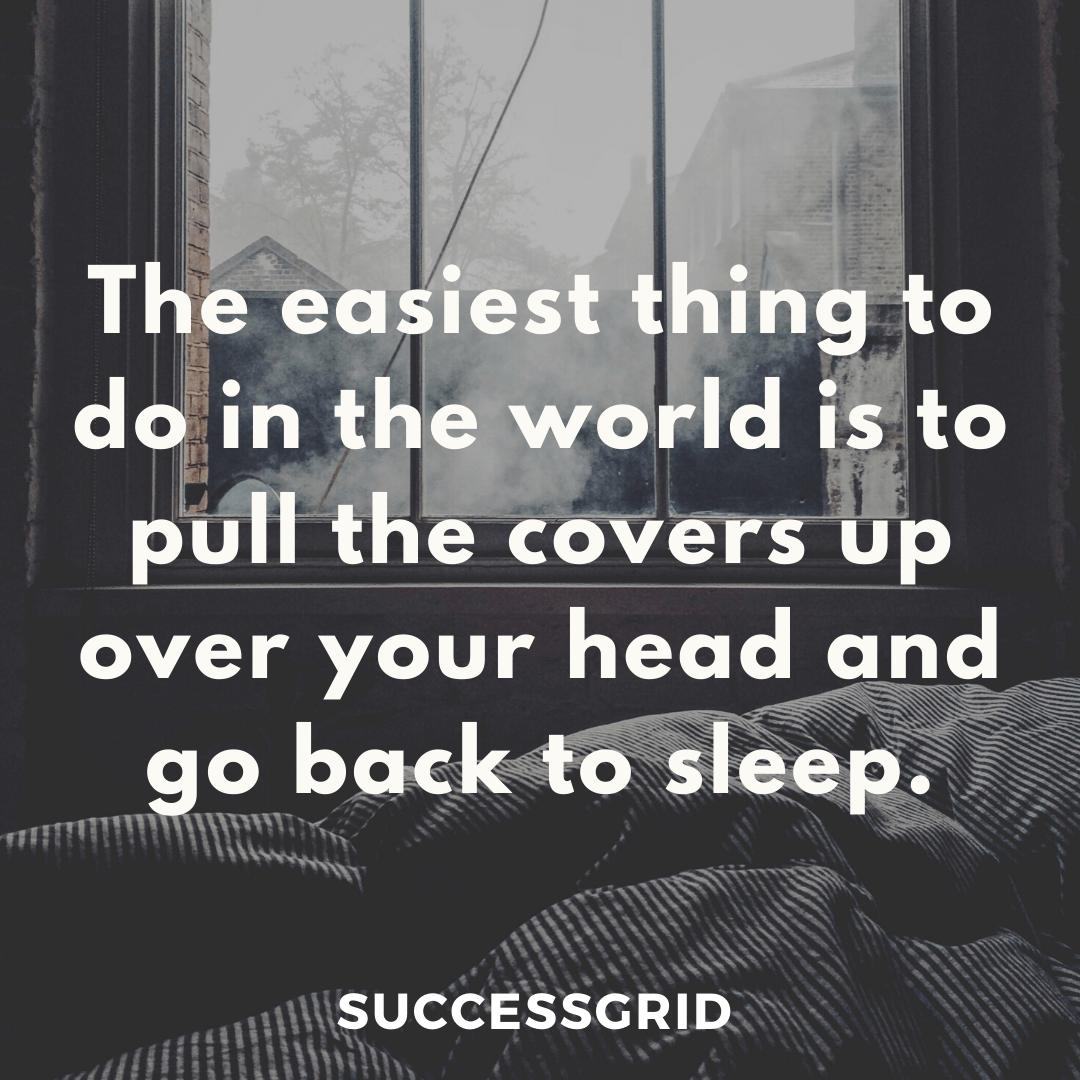 Dan Gable Quotes go back to sleep