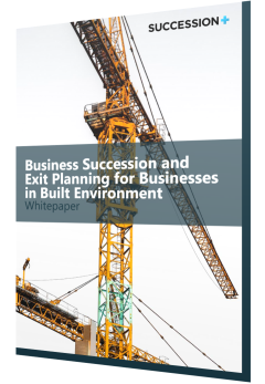 Succession Plus cover entitled in Built Environment Whitepaper
