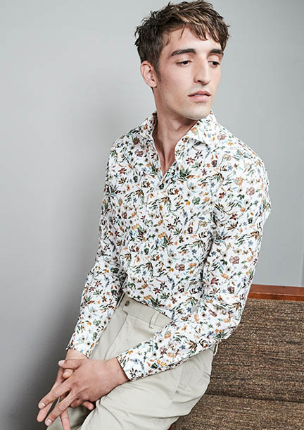 Trend: Florale Hemden
