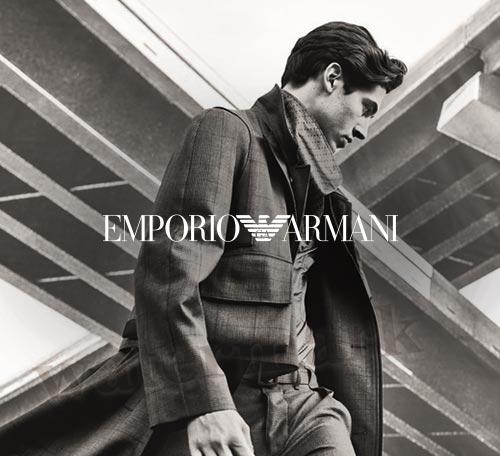EMPORIO ARMANI: Neue Kollektion