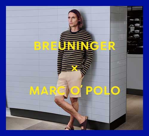 BREUNINGER x MARC O´POLO