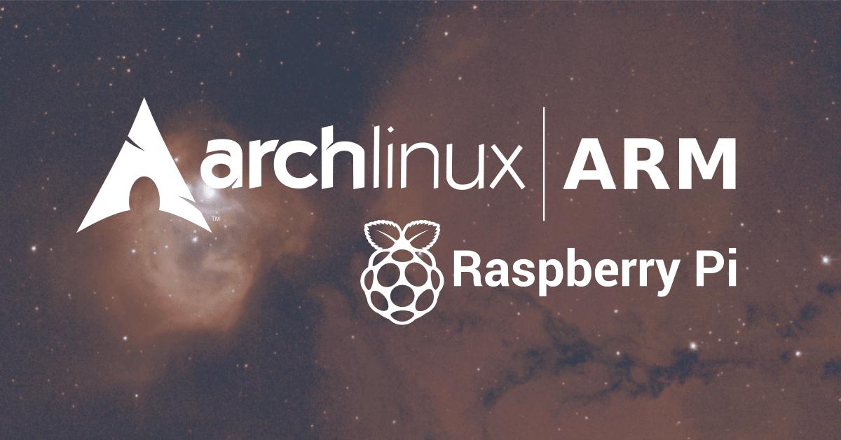 arch linux + raspberry pi