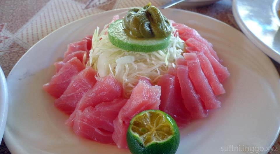 2016 05 malagos tuna sashimi