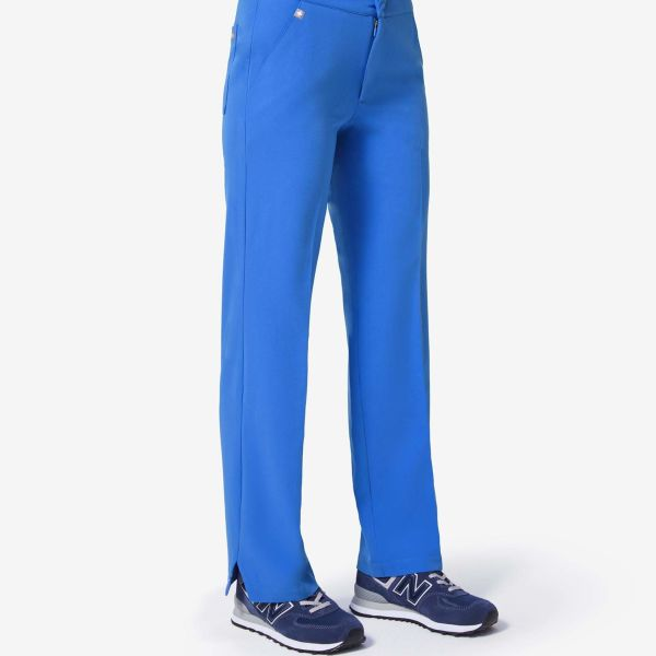 9d98954e1a women s Royal Blue Keroka - Wide-Leg Trouser Scrub Pants