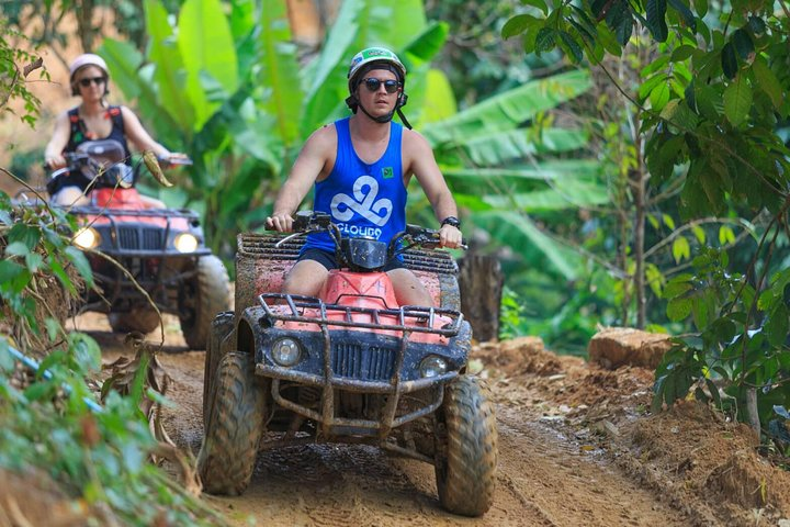 Ride on a safari adventure on a All Terrain Vehicle (ATV)