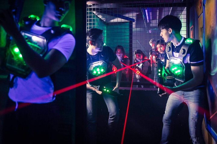 Bangkok Laser Game (daily pass unlimited games)ticket only