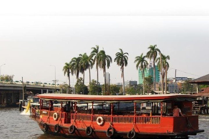 Venice of the East Rice Barge River Cruise Tour from Bangkok (Ticket Only)