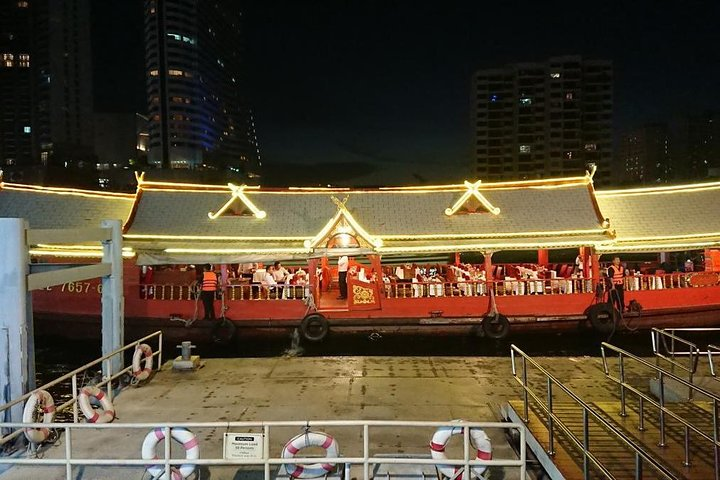 Wan Fah Dinner Cruise from Bangkok including Traditional Dance & Live Music (Ticket Only)