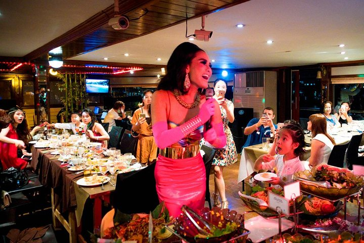 White Orchid Dinner River Cruise (ticket only)