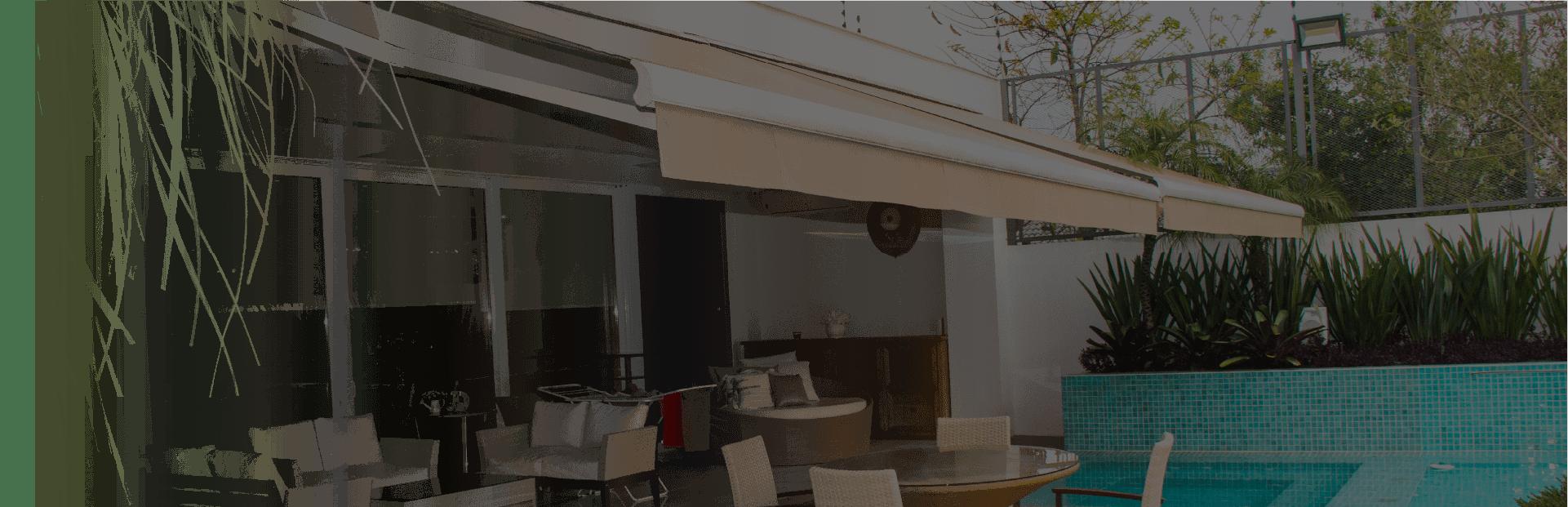 Cortinas, persianas e toldos personalizados de alto padrão