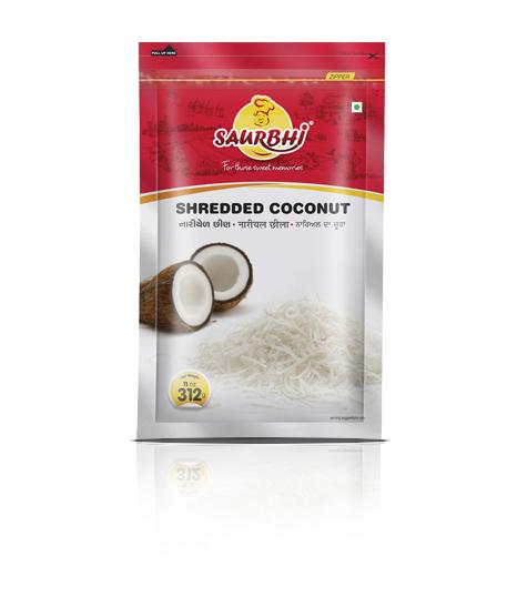 SAURBHI COCONUT SHREDDED (312 GRAM)