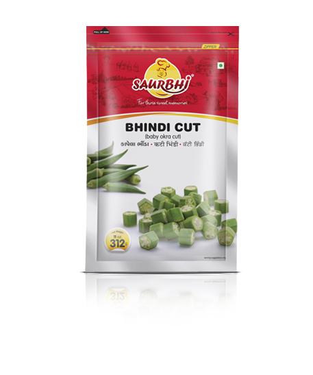 SAURBHI BHINDI CUT (300 GRAM)