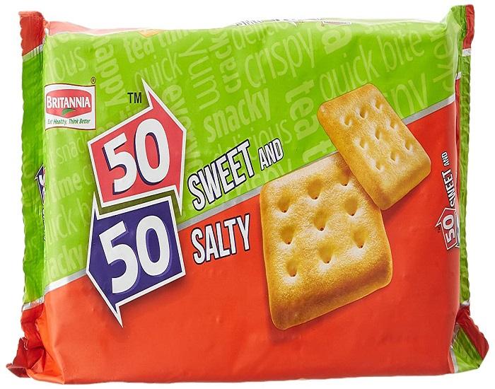 BRITANNIA 50/50 SWEET & SALTY (62 GRAM)