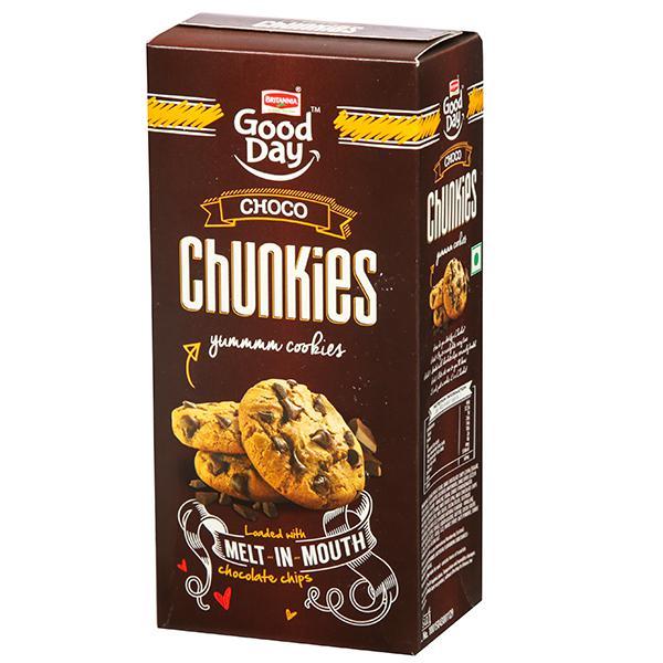 BRITANNIA CHOCO CHUNKIES (100 GRAM)