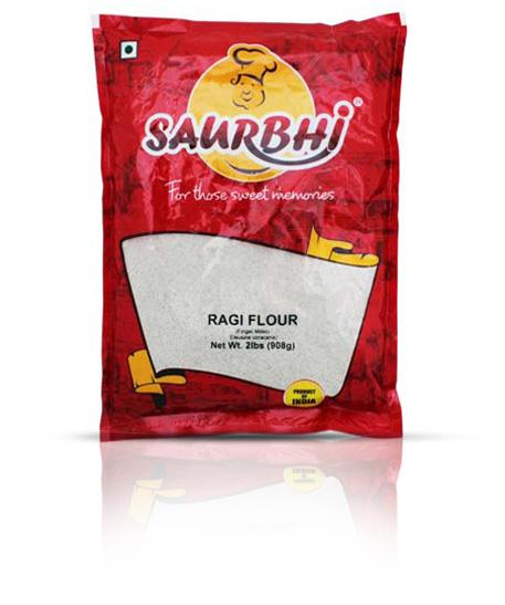 SAURBHI RAGI FLOUR (908 GRAM)