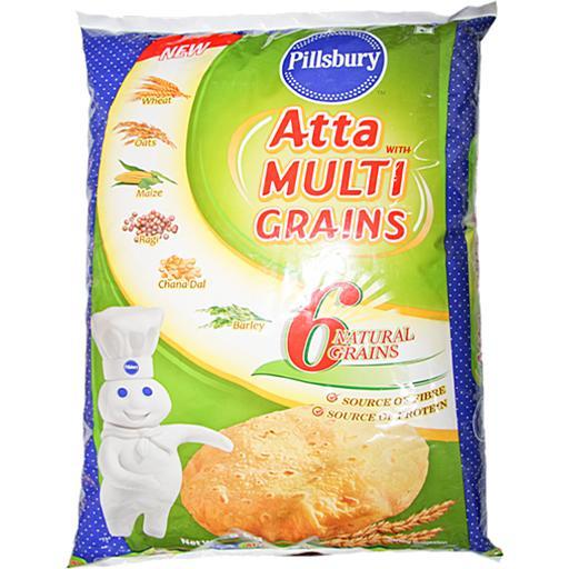 PILSBURY MULTI GRAIN ATTA (5 KG)