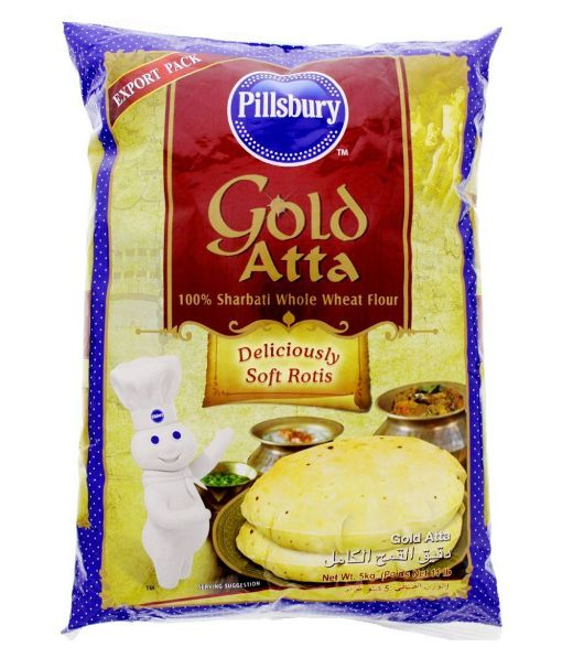 PILLSBURY GOLD ATTA (5 KG)