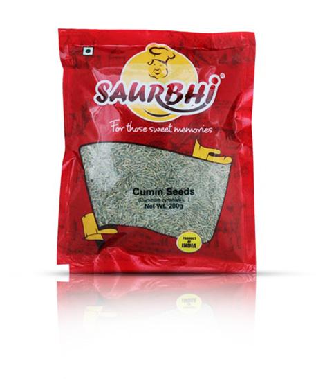 SAURBHI CUMIN SEEDS (200 GRAM)