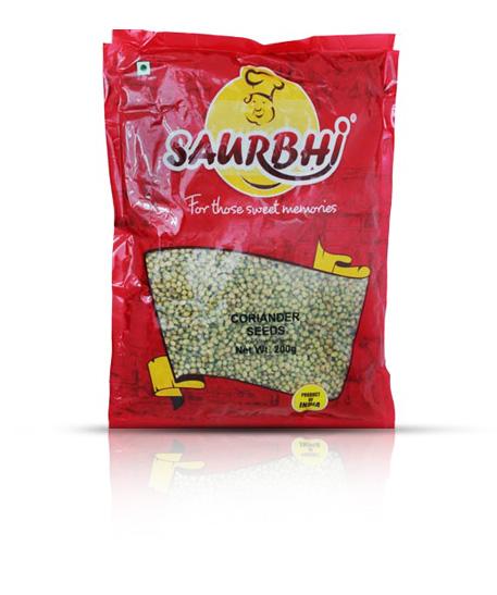 SAURBHI CORIANDER SEEDS (500 GRAM)