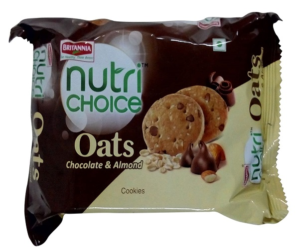 BRITANNIA OATS CHOCOLATE ALMOND (75 GRAM)