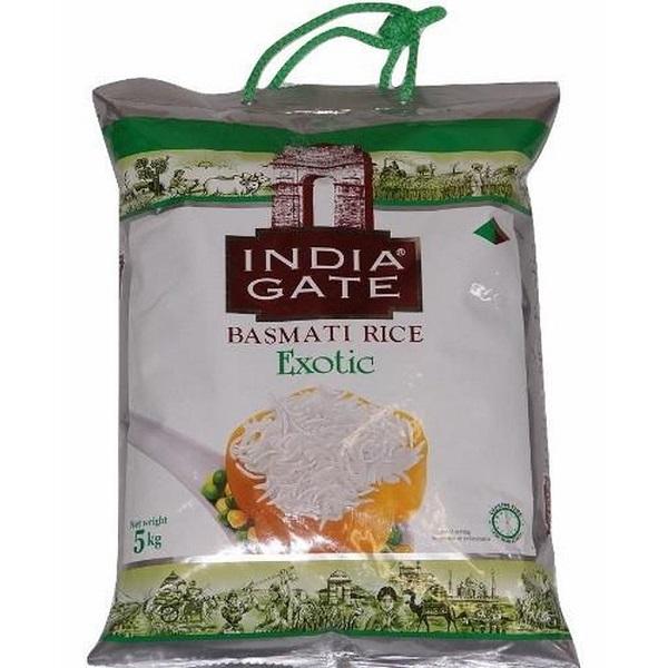 INDIA GATE EXOTIC BASMATI (5 KG)