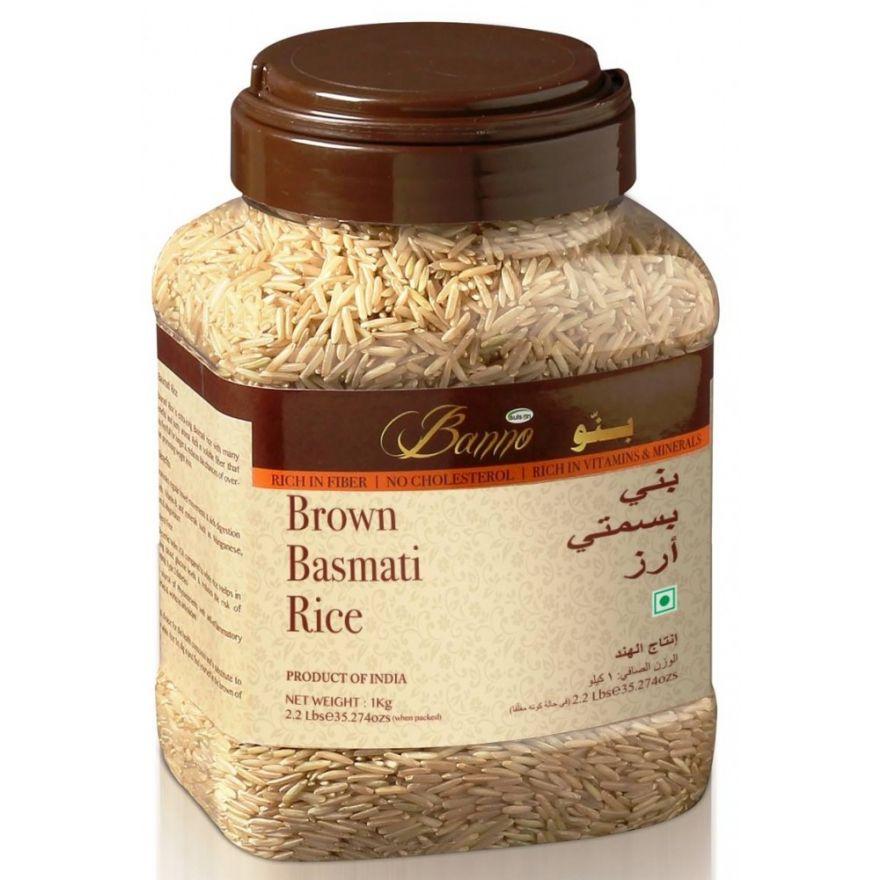 BANNO BROWN BASMATI RICE (5 KG)