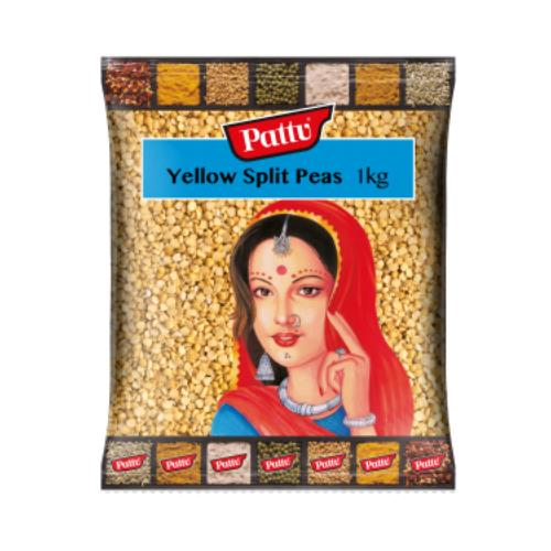 PATTU YELLOW SPLIT PEAS (1 KG)
