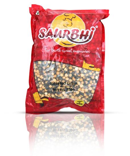 SAURBHI ROASTED GRAM SALTY (450 GRAM)