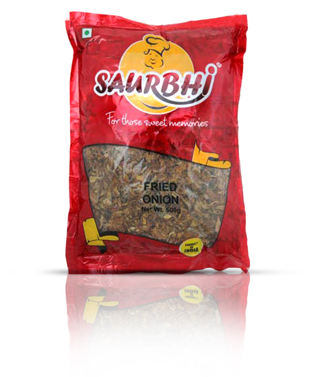SAURBHI FRIED ONIONS (500 GRAM)
