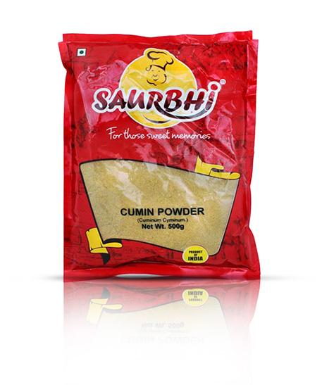SAURBHI CUMIN POWDER (500 GRAM)
