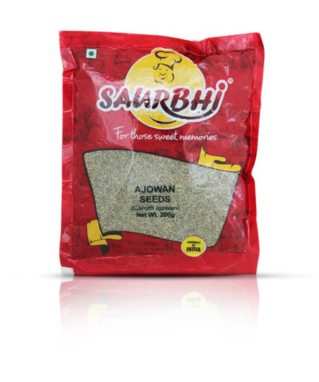 SAURBHI AJOWAIN SEEDS (200 GRAM)