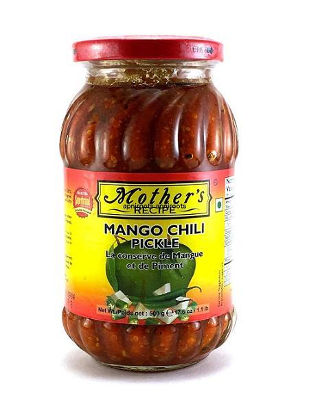 MOTHERS MANGO CHILLI PICKLE (500 GRAM)