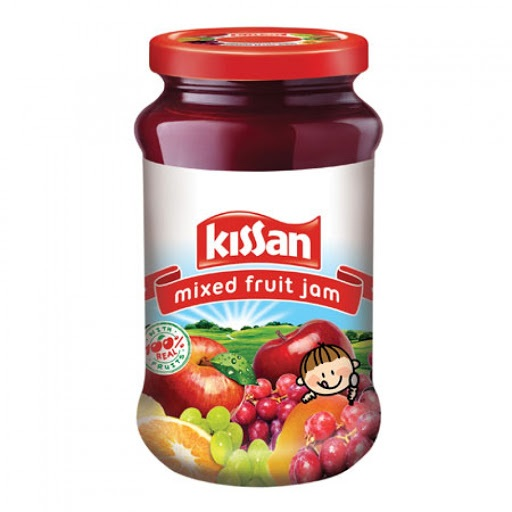 KISSAN MIXED FRUIT JAM (500 GRAM)