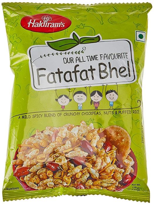 HALDIRAMS FATAFAT BHEL (150 GRAM)