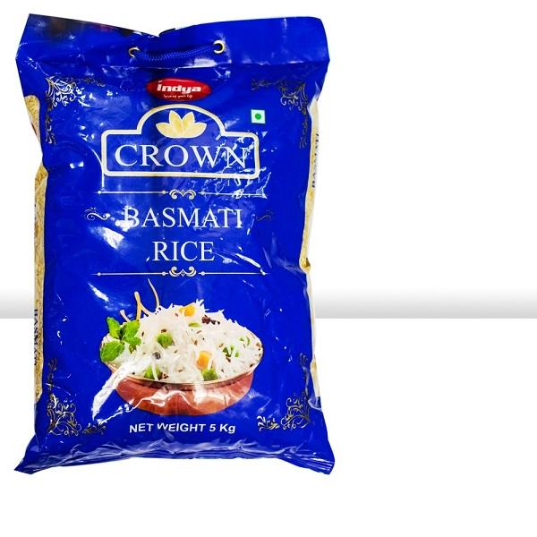 INDYA CROWN BASMATI RICE (5 KG)
