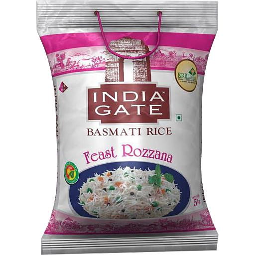 INDIA GATE ROZANA RICE (5 KG)
