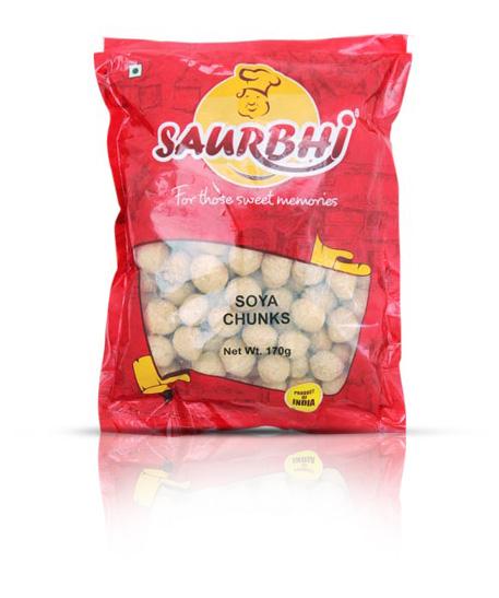 SAURBHI SOYA CHUNKS (170 GRAM)
