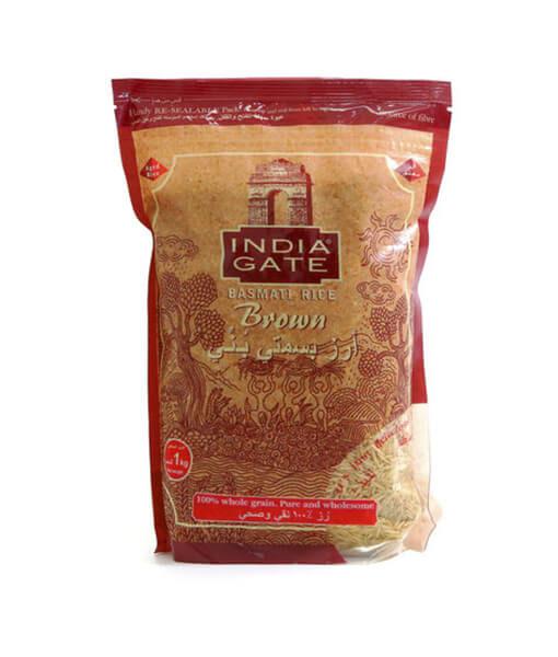 INDIA GATE BROWN RICE (5 KG)