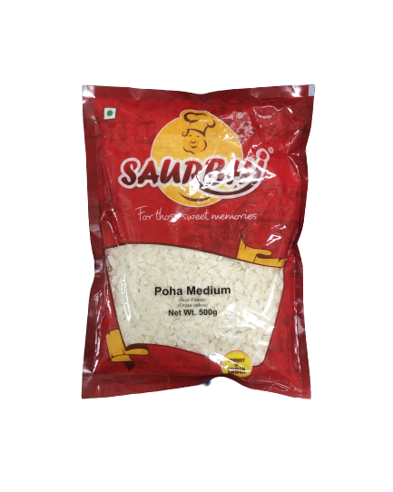 SAURBHI POHA MEDIUM (500 GRAM)