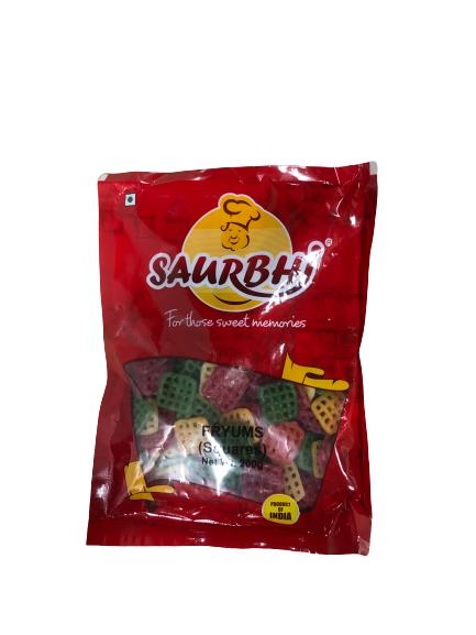 SAURBHI FRYUMS SQUARES (200 GRAM)