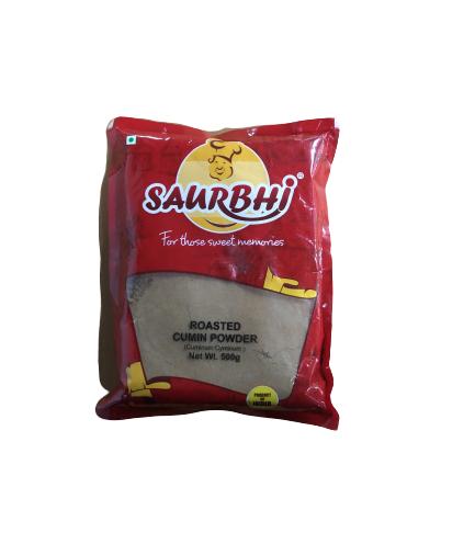 SAURBHI ROASTED CUMIN PWD (500 GRAM)