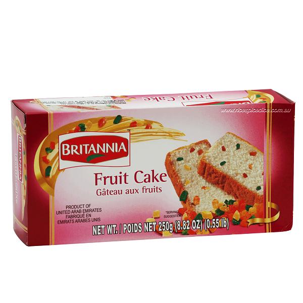 BRITANNIA FRUIT CAKE (250 GRAM)