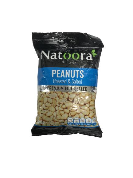 NATOORA ROASTED & SALTED PEANUTS (300 GRAM)