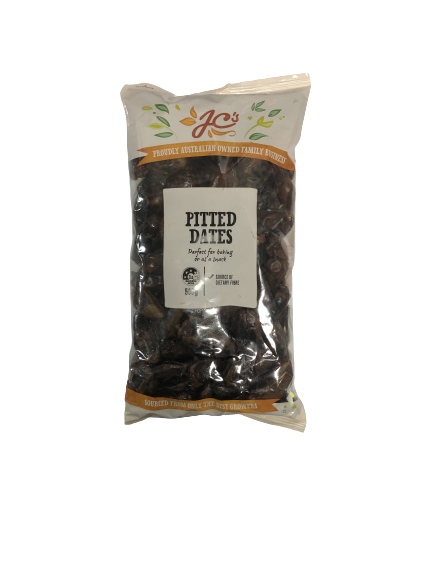 JC S PITTED DATES (500 GRAM)