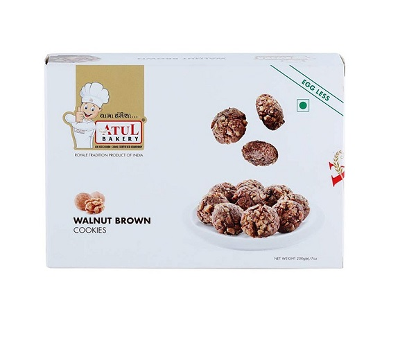 ATUL BAKERY WALNUT COOKIES (200 GRAM)