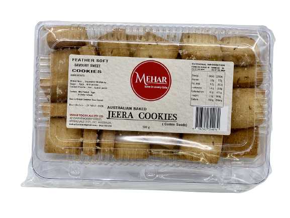 MEHAR JEERA COOKIES (500 GRAM)