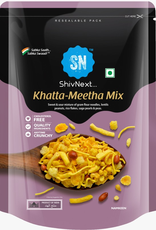 SHIVNEXT KHATTA MEETHA MIX (150 GRAM)